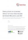 Simularea impactului economic al unui regim de circulație fără vize între Moldova și UE