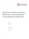 Impactul aderării viitoare a României la zona Schengen asupra Republicii Moldova