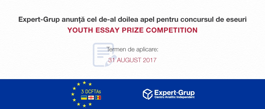 Expert-Grup announces a new call for participation in the Youth Essay Prize Competition