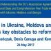 Oligarhii din Ucraina, Moldova și Georgia: obstacole-cheie în calea reformelor