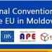 """A 3-a masă de lucru a Convenției Naționale UE în Moldova: Grupul de lucru """"Comerț, servicii, concurență"""""""