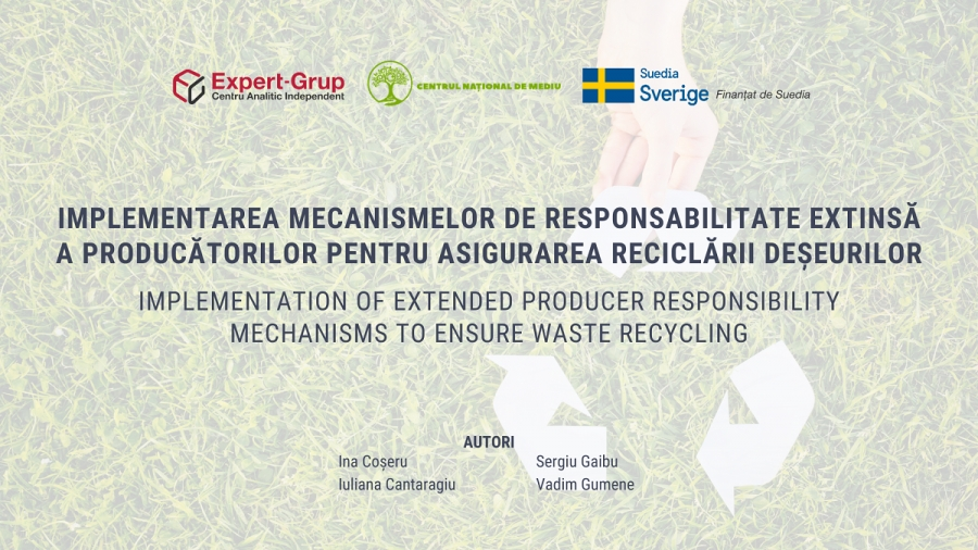 Implementation of Extended Producer Responsibility mechanisms to ensure waste recycling