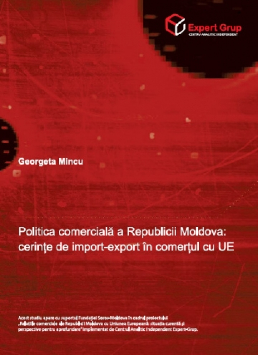 Moldova's Trade Policy: Import-Export Conditions in the Trade with EU