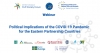 Political Implications of the COVID-19 Pandemic for the Eastern Partnership Countries