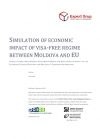 Simulation of economic impact of visa-free regime between Moldova and EU