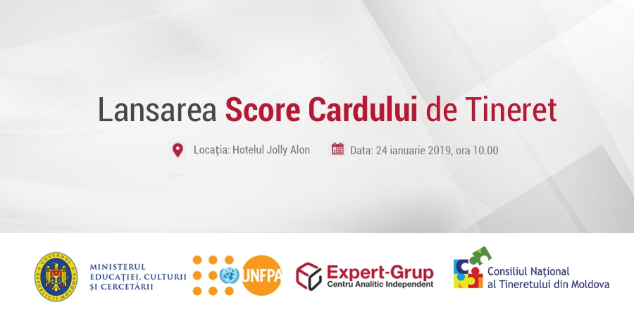 Launching event of the Youth Score Card