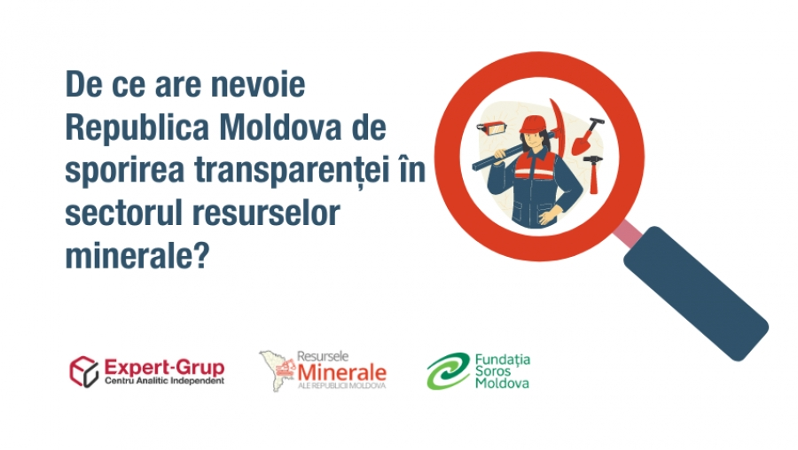 Why does Moldova need to increase the transparency in the extractive sector