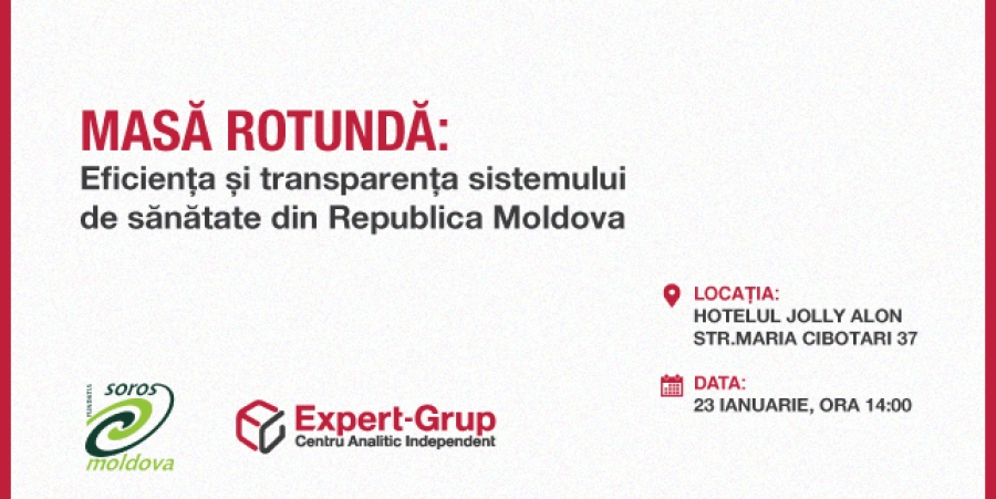 Efficiency and transparency of the healthcare industry in Moldova