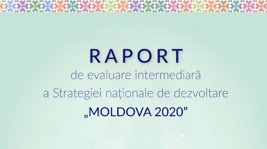 "Report: Mid-term Evaluation of National Development Strategy ""MOLDOVA 2020"" Key Findings"