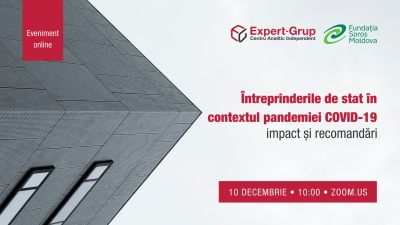 "Invitation: ""State-owned enterprises in the context of the COVID-19 pandemic: impact and recommendations"""