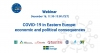 Webinar invitation: COVID-19 in Eastern Europe: economic and political consequences