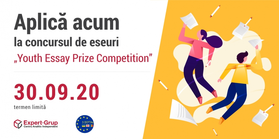 "Expert-Grup launches a new call for participation in the ""Youth Essay Prize Competition"""