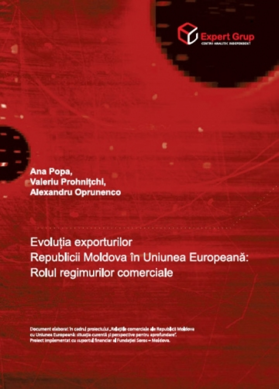 Evolution of Exports of the Republic of Moldova to the European Union: The Role of Trade Regimes