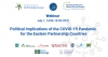 "Webinar ""Political Implications of the COVID-19 Pandemic for the EaP Countries"
