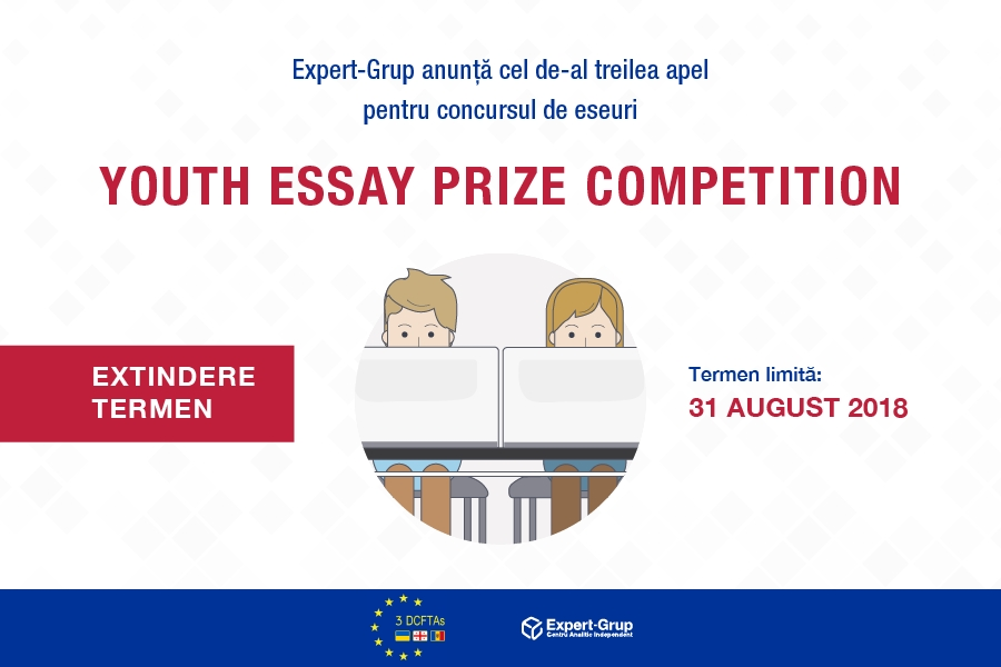 "Deadline extended: Expert-Grup launches a new call for participation in the ""Youth Essay Prize Competition"""