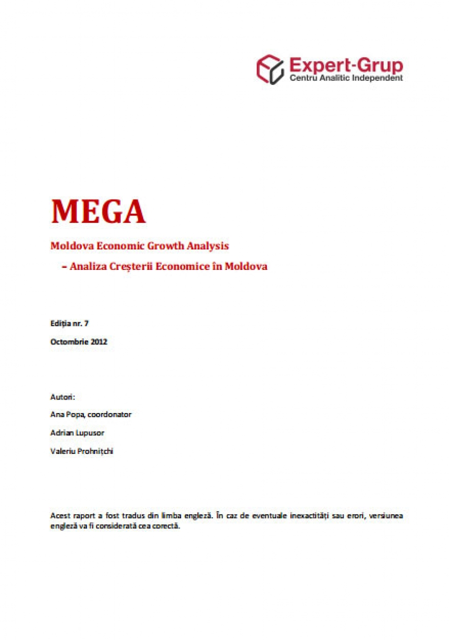 MEGA - Moldova Economic Growth Analysis, no.7, 2012