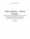 "Policy Options following the Country Report ""Overview of the Relationship between Human Capital Development and Equity in The Republic of Moldova """