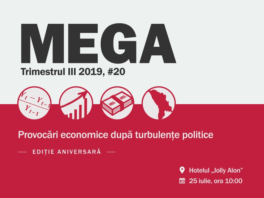 "MEGA Conference, Anniversary edition, #20 ""Economic challenges following political turbulence"""