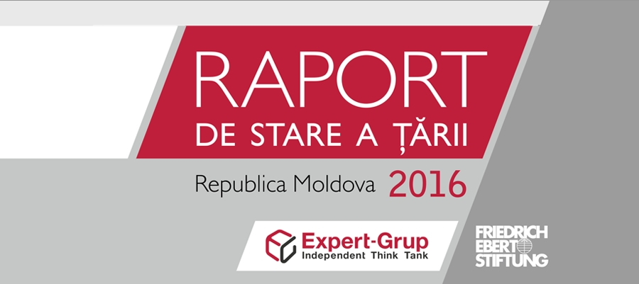 State of the Country Report 2016: the Republic of Moldova is facing a deep systemic crisis, that can be solved only by revolutionizing the governing mechanism