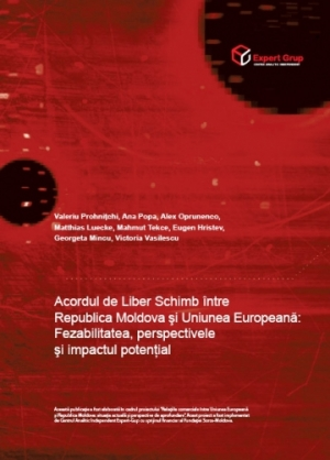 A Free Trade Area between the Republic of Moldova and the European Union: Feasibility, Perspective and Potential Impact