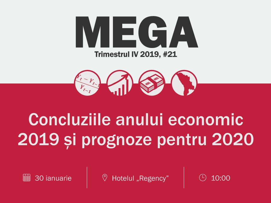 "MEGA Conference ""Conclusions of the economic year 2019. Economic forecasts for 2020"""